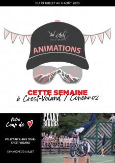 Hebdo des Animations de Crest-Voland / Cohennoz