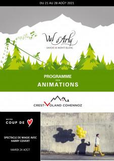 Hebdo des Animations de Crest-Voland / Cohennoz du 16 au 23 janvier