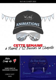 Hebdo des Animations de Flumet / St Nicolas la Chapelle