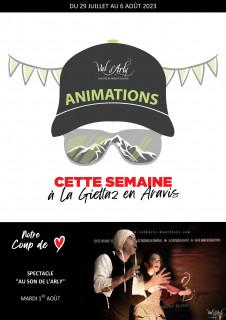 Hebdo des Animations de La Giettaz en Aravis