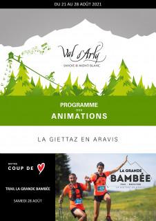 Hebdo des Animations de La Giettaz en Aravis du 16 au 23 janvier