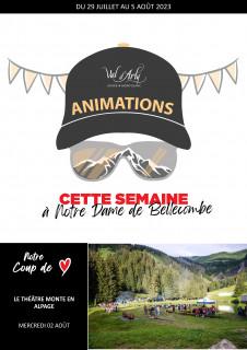 Hebdo des Animations de Notre Dame de Bellecombe