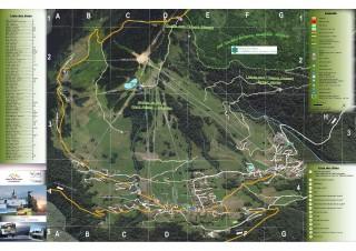 Plan de la station de Crest-Voland / Cohennoz